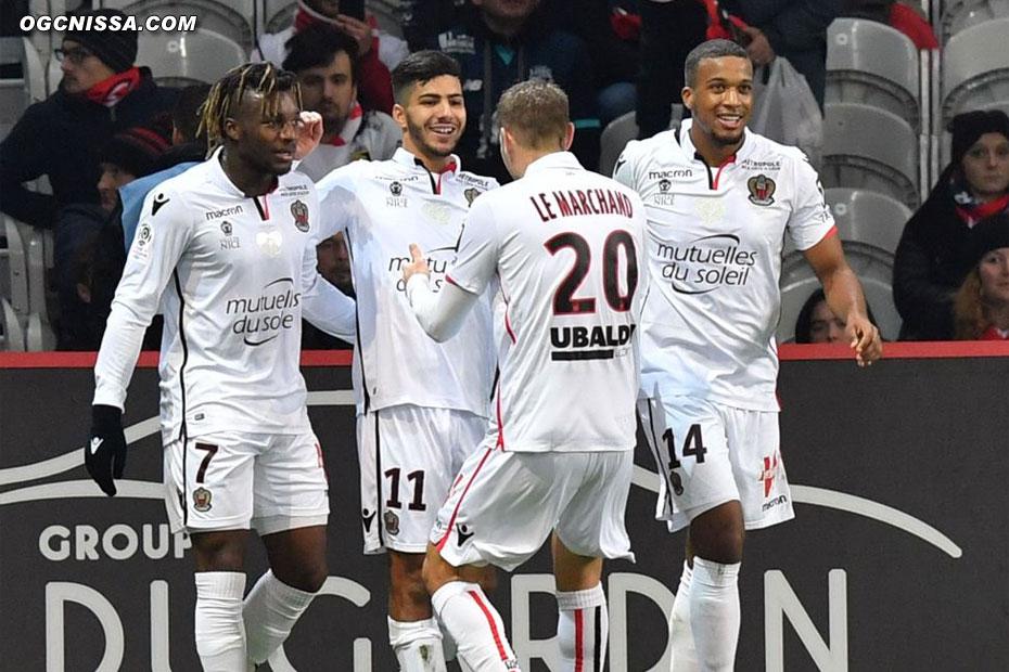 C'est le 2e but de Bassem Srarfi cette saison