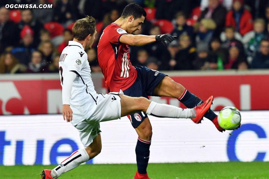 Lille égalisera en fin de match. Score final 1 partout