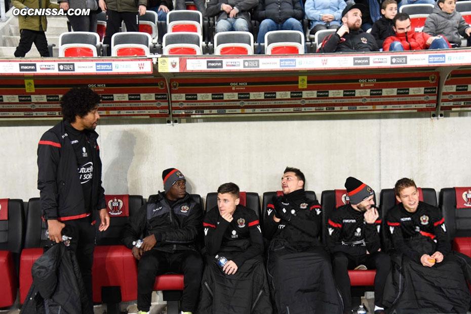 Dante, Balotelli et Jallet sont sur le banc pour cette rencontre