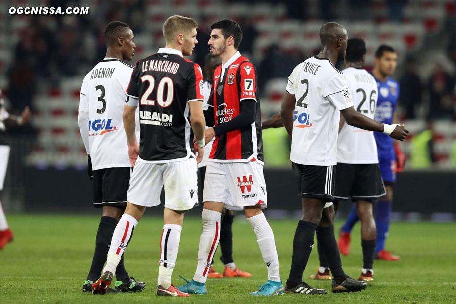 20e journée : Nice - Amiens