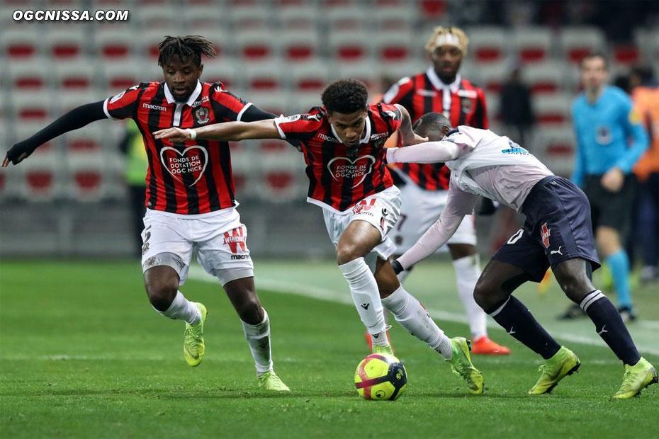 Ihsan Sacko et Adrien Tameze