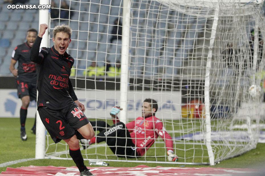 1 but partout pour la plus grande joie d'Arnaud Souquet