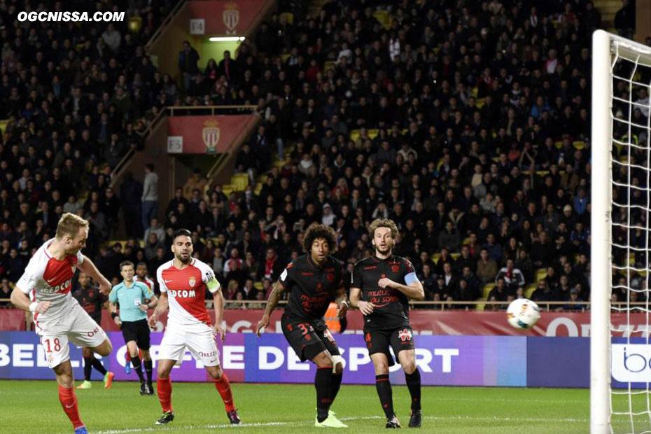 Valére Germain ouvre le score pour Monaco