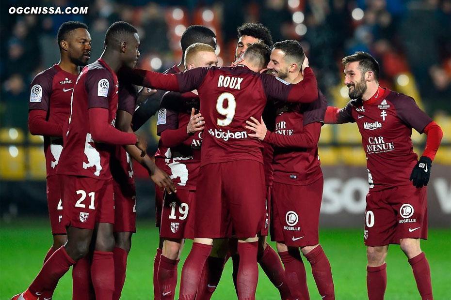 Metz ouvre le score