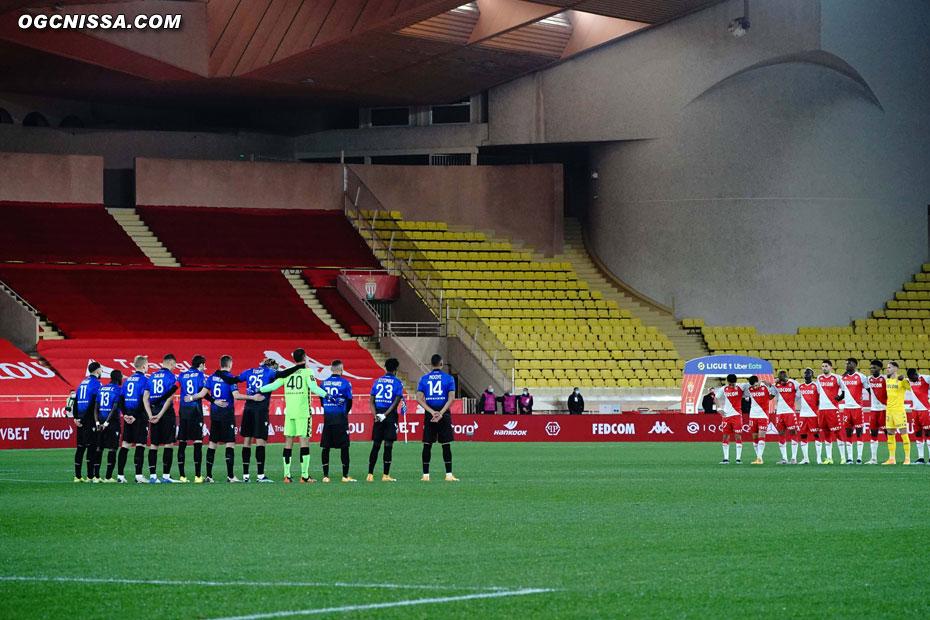 Déplacement à Monaco pour la 23e journée de L1