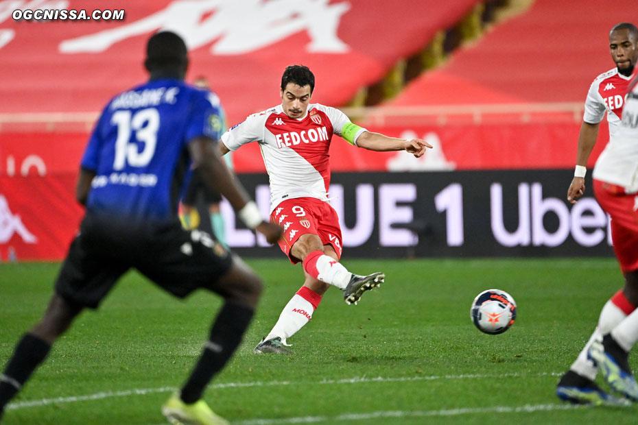 Mais Ben Yedder redonne l'avantage à Monaco sur un coup franc surpuissant