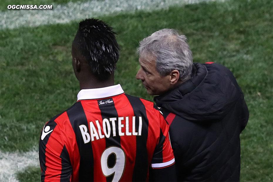 Mario Balotelli rentrera en fin de match