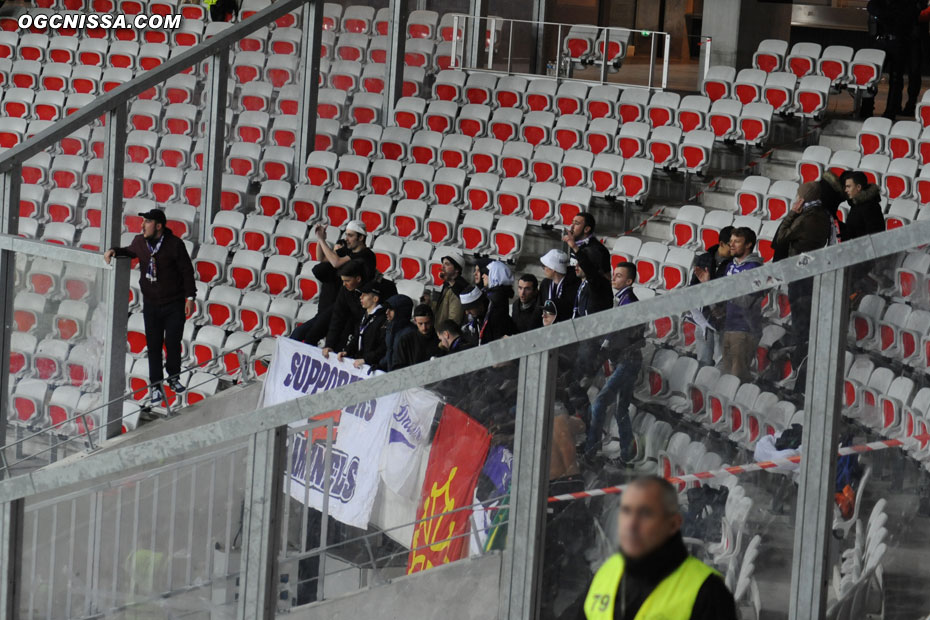 Les supporters toulousains