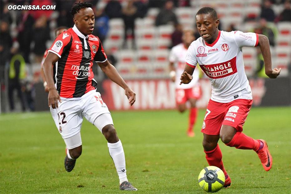 Arnaud Lusamba entre en fin de match