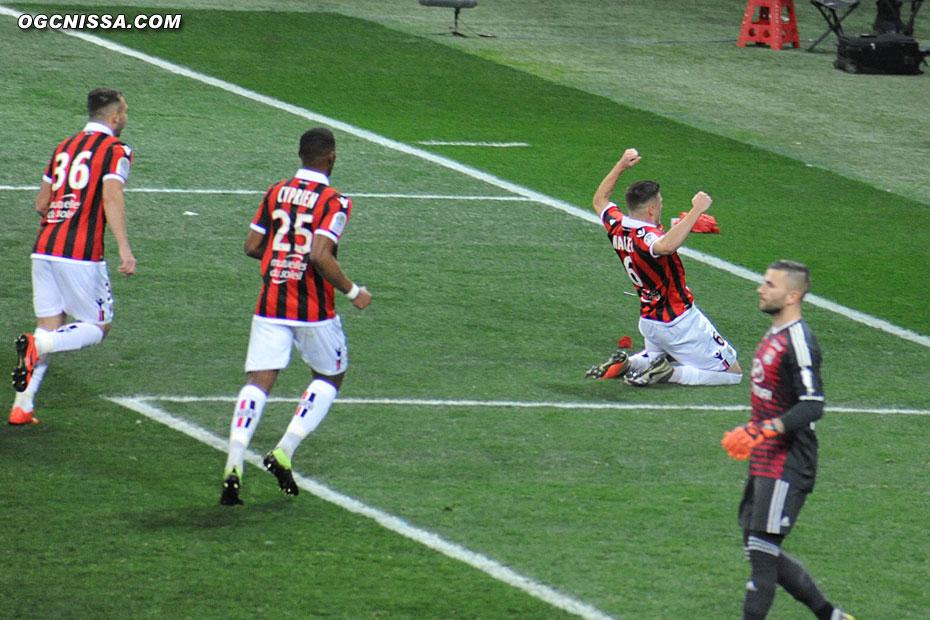 Le 2e but en Ligue 1 pour Rémi Walter cette saison