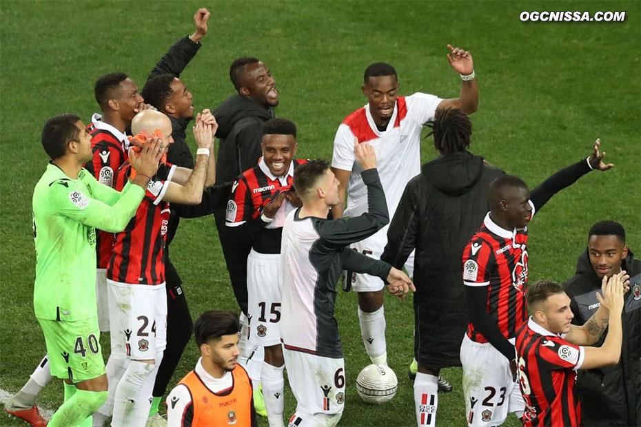 24e journée : Nice - Lyon
