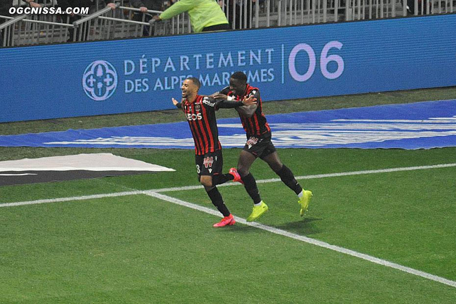 Nice ouvre le score rapidement par Alexis Claude Maurice