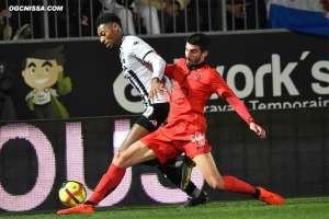 25e journée : Angers - Nice