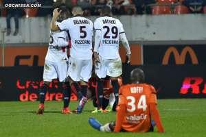 26e journée : Lorient - Nice