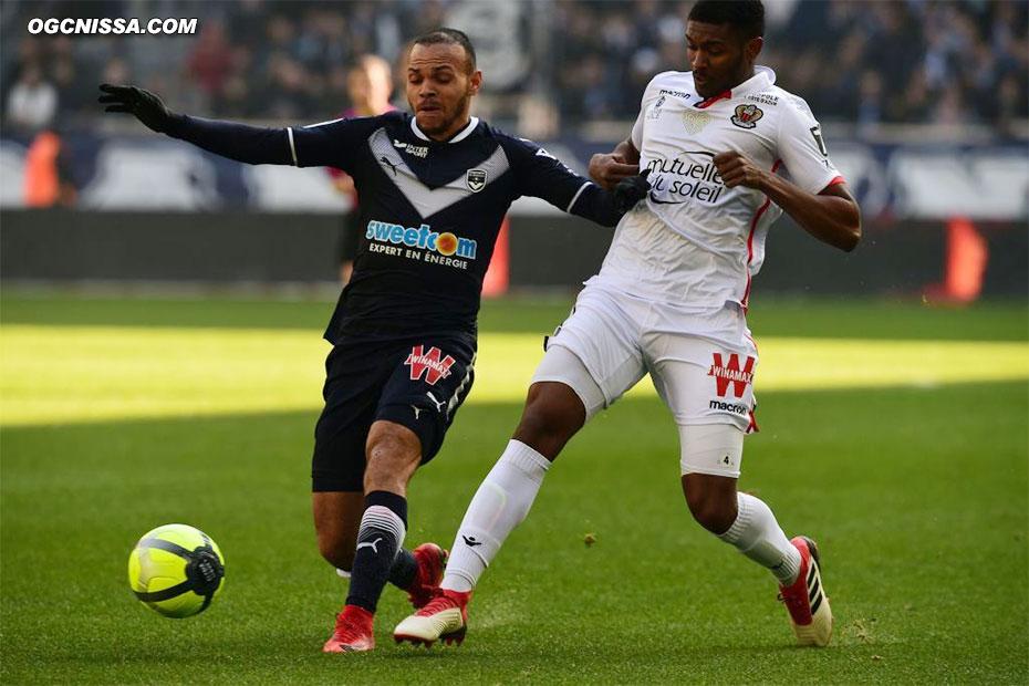 Retour de Marlon Santos en défense centrale pour ce match