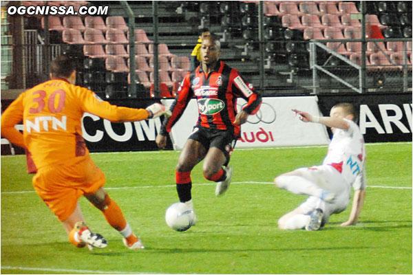 Bamogo sera trop court sur ce ballon
