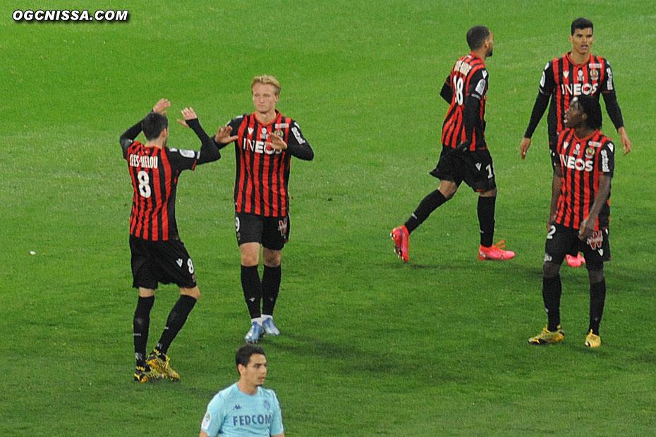 1 - 1 avec ce but de Kasper Dolberg