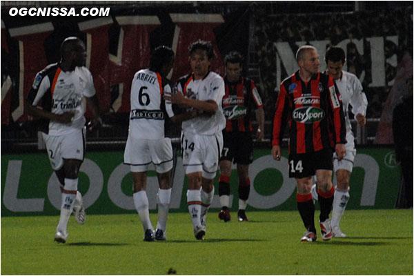 Marama Vahirua ouvre le score pour Lorient