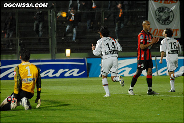 Et logiquement, Lorient reprend l'avantage par Saïfi