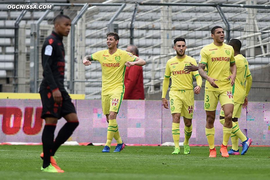 Nantes ouvre le score