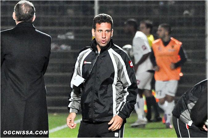 L'un des entraîneurs adjoints, Frédéric Gioria