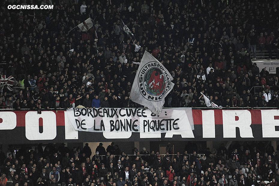 Petit message de la BSN aux ultras bordelais