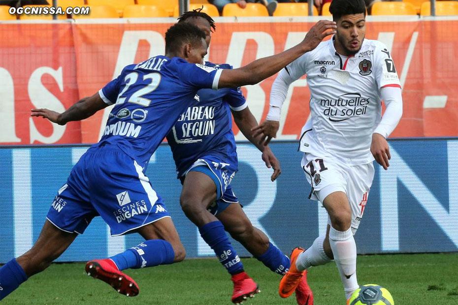 Bassem Srarfi entré en fin de match