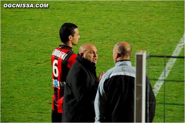 Antonetti ne comprend pas comment l'arbitre n'a pas été plus sévère