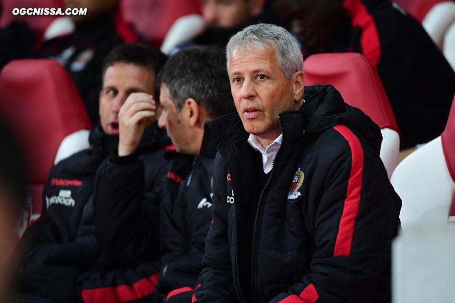 Le coach Lucien Favre