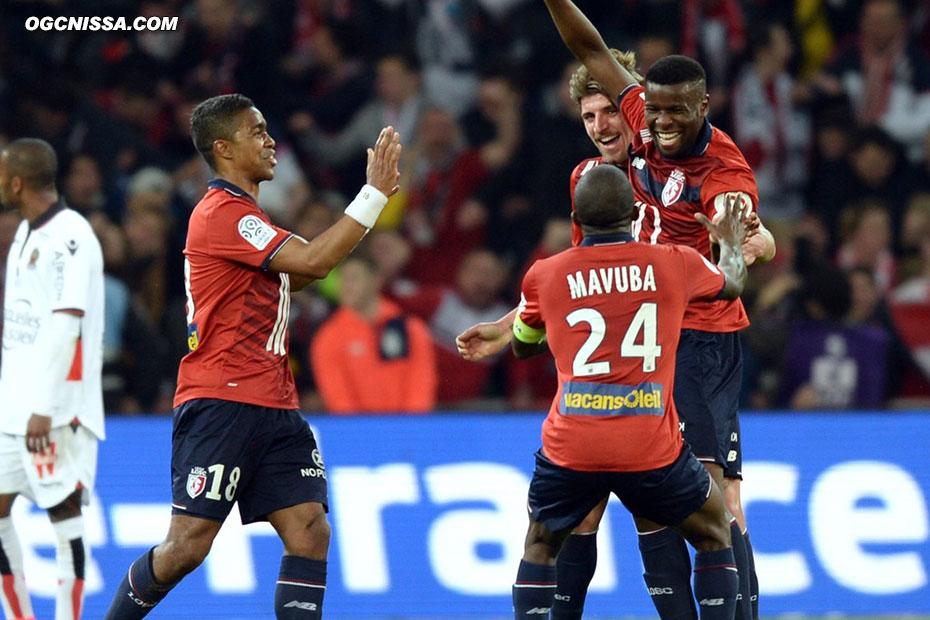 Lille ouvre le score
