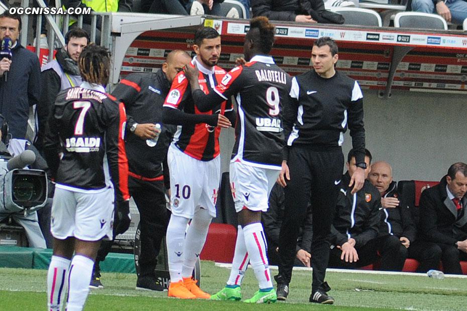 Mickael Le Bihan remplace Mario Balotelli