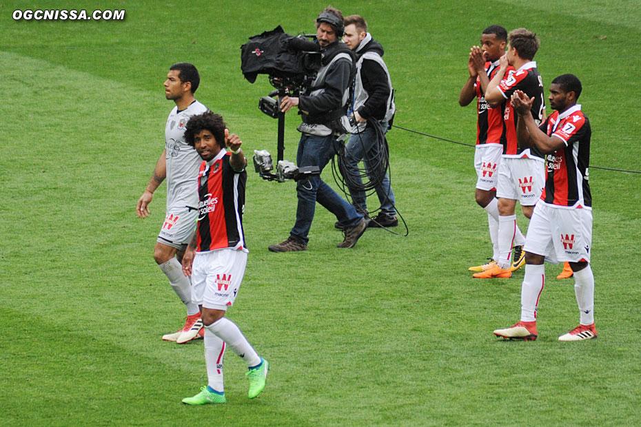 C'est terminé. Match nul 1 partout. Dante Bonfum et les siens ont maintenant rendez-vous avec Angers, vendredi prochain.