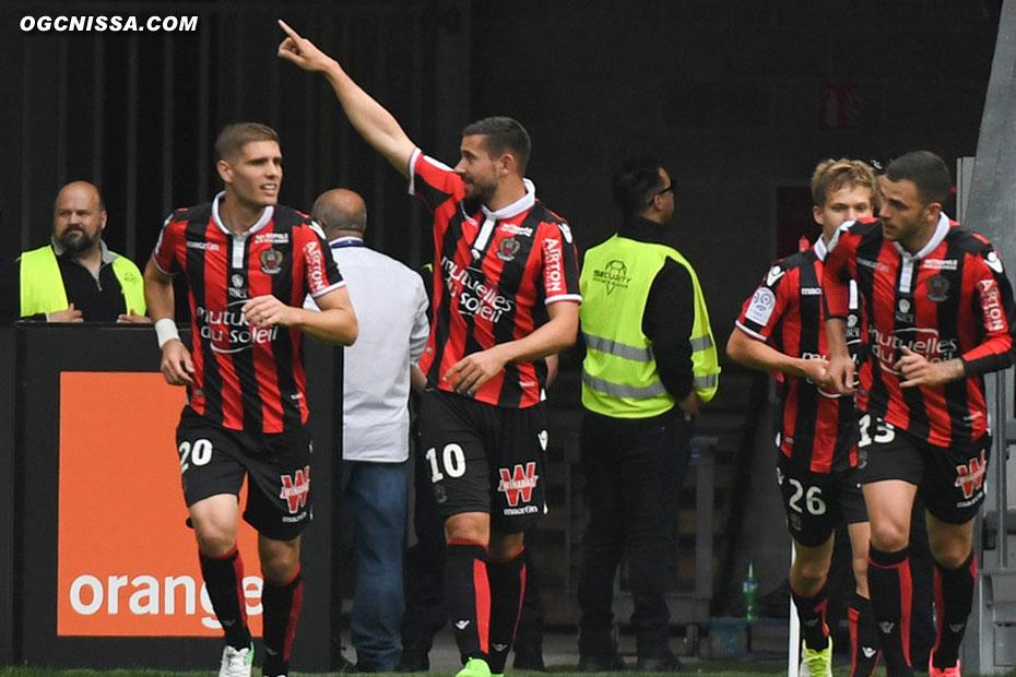 Mickael Le Bihan remercie les supporters
