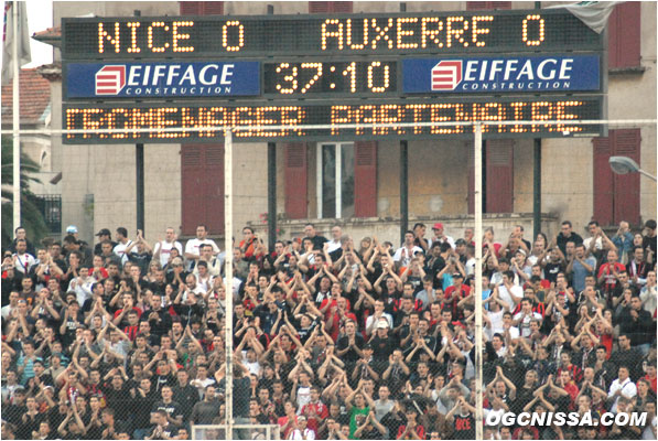 L1 : Nice - Auxerre 06