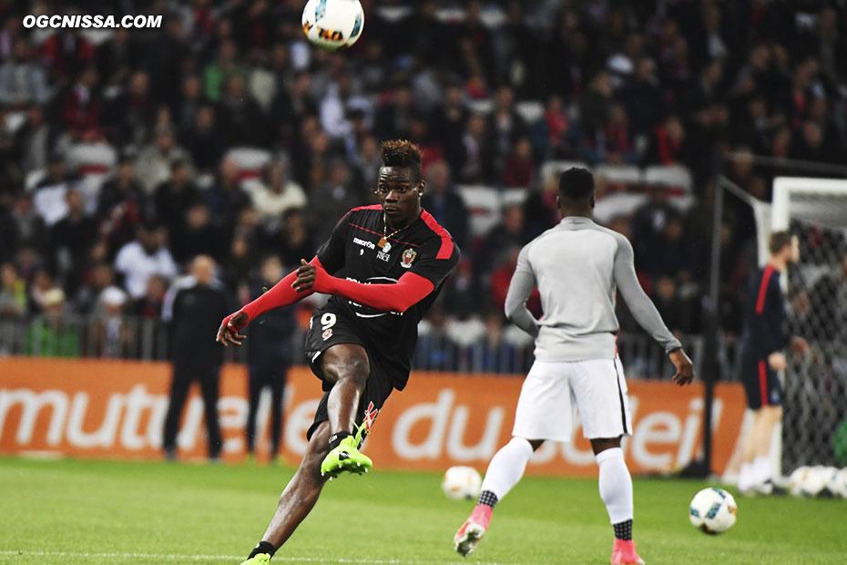 Mario Balotelli titulaire pour cette rencontre face au PSG