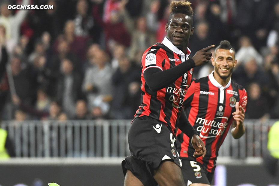 Le 14e but de Mario Balotelli en Ligue 1