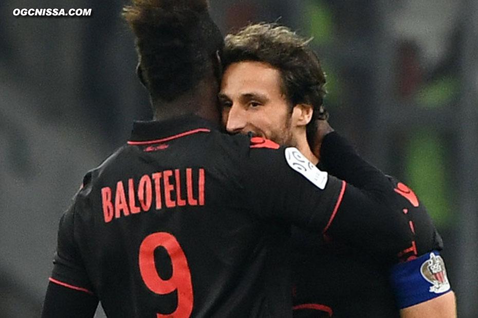 Balotelli remercie le passeur Paul Baysse