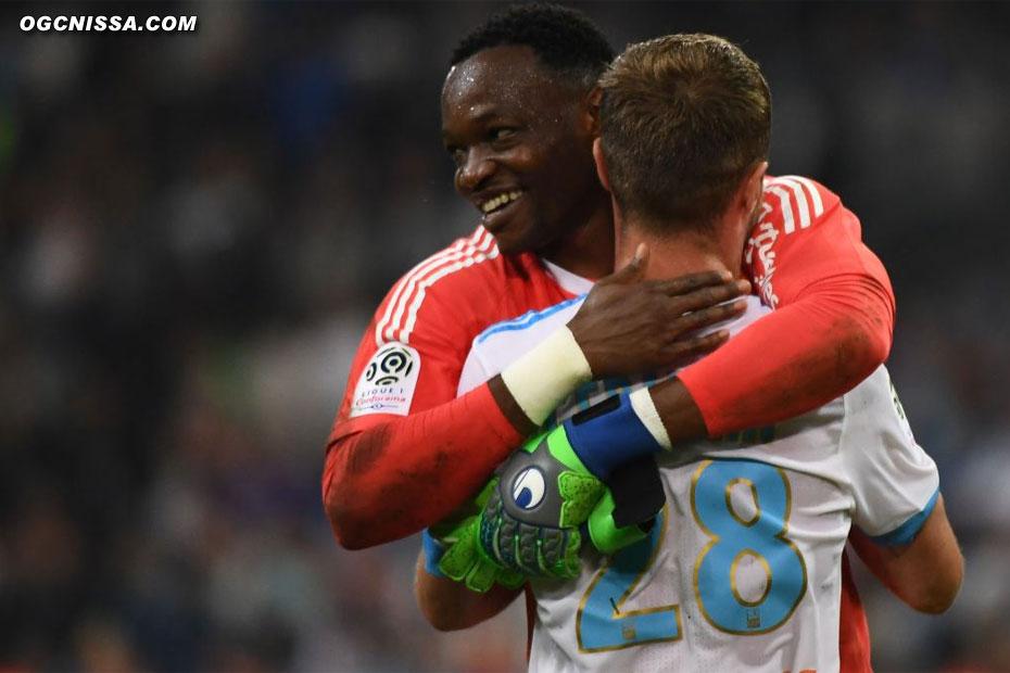 C'est terminé. Marseille s'impose 2 à 1. Les chances de voir Nice européen la saison prochaine se réduisent.