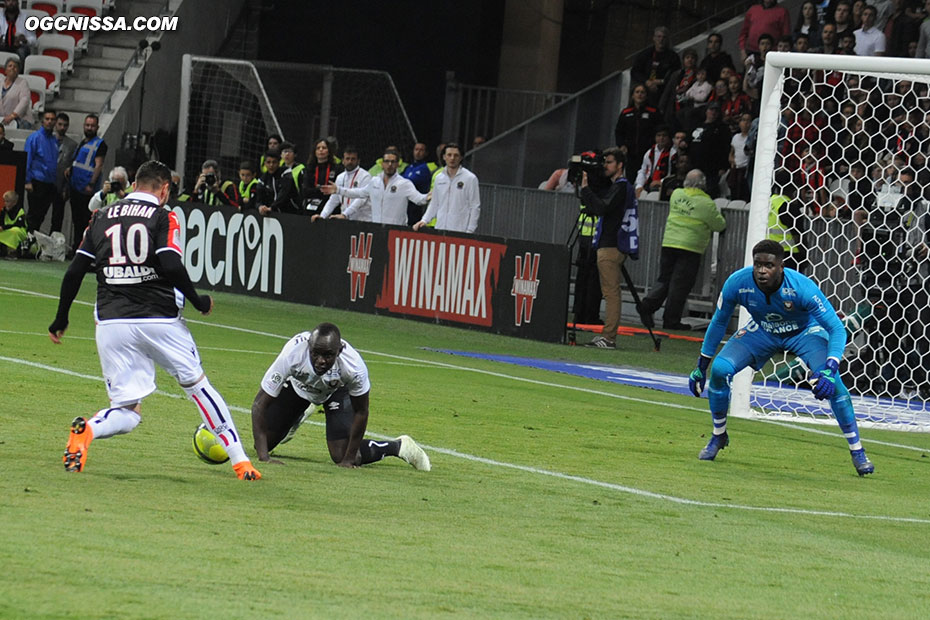 Mickael Le Bihan entré en fin de match