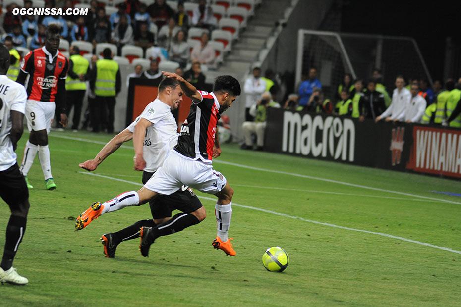 Bassem Srarfi en fin de match