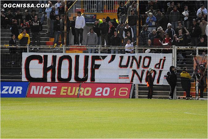 Hommage à Echouafni pour ce dernier match de la saison et de sa carrière
