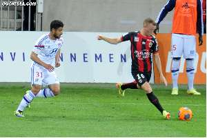 38e journ�e : Nice - Lyon