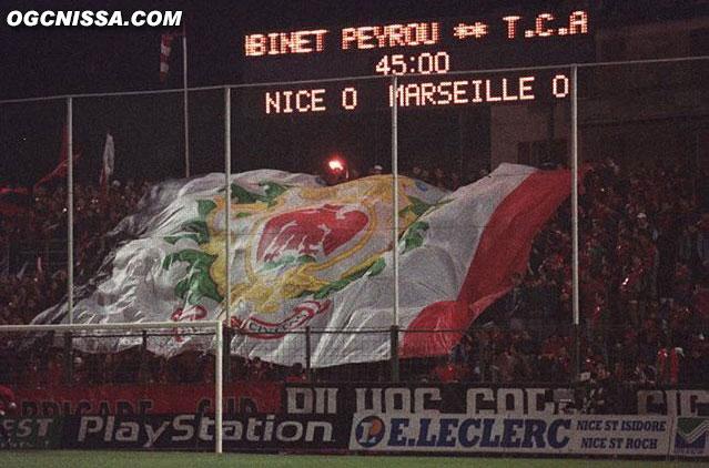 La BSN lors de Nice - Marseille
