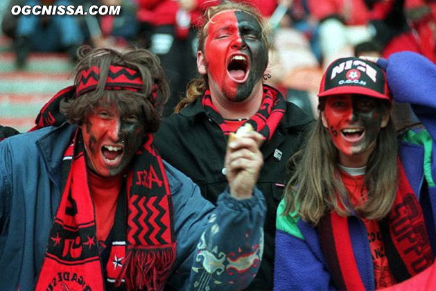 Les supporters avant la finale face à Guingamp