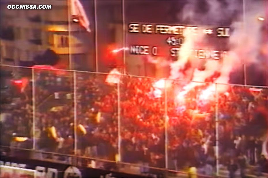 La BSN contre St-Etienne