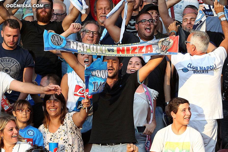 Les supporters napolitains ne verront pas leurs homologues niçois pour ce match