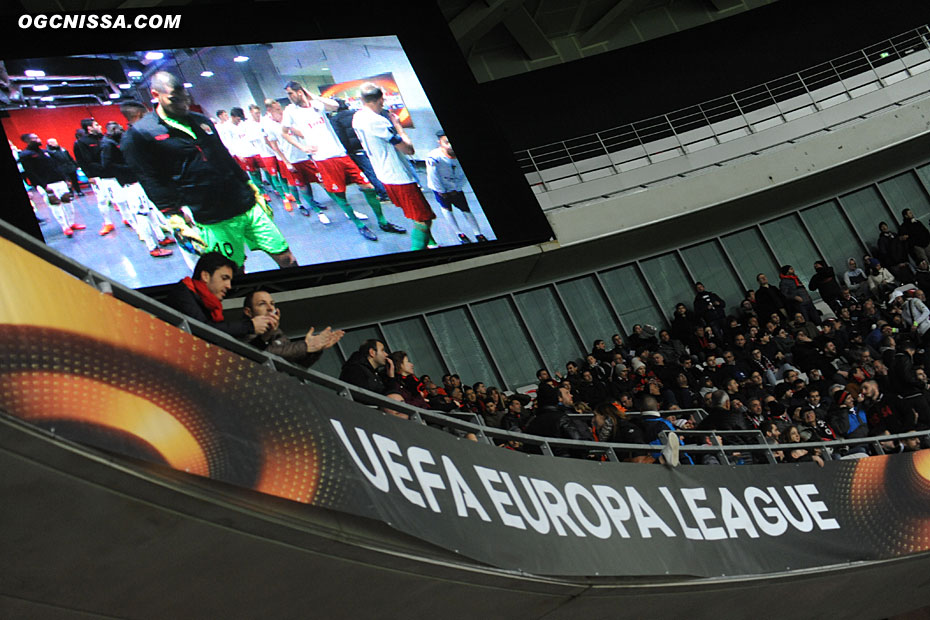 16e de finale aller d'Europa League