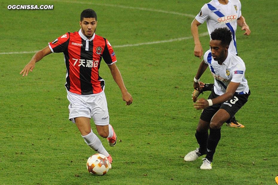 Bassem Srarfi rentre en fin de match