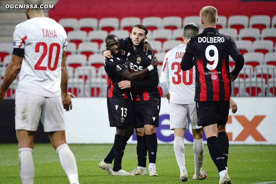 Le 2e but d'Amine Gouiri en Europa League