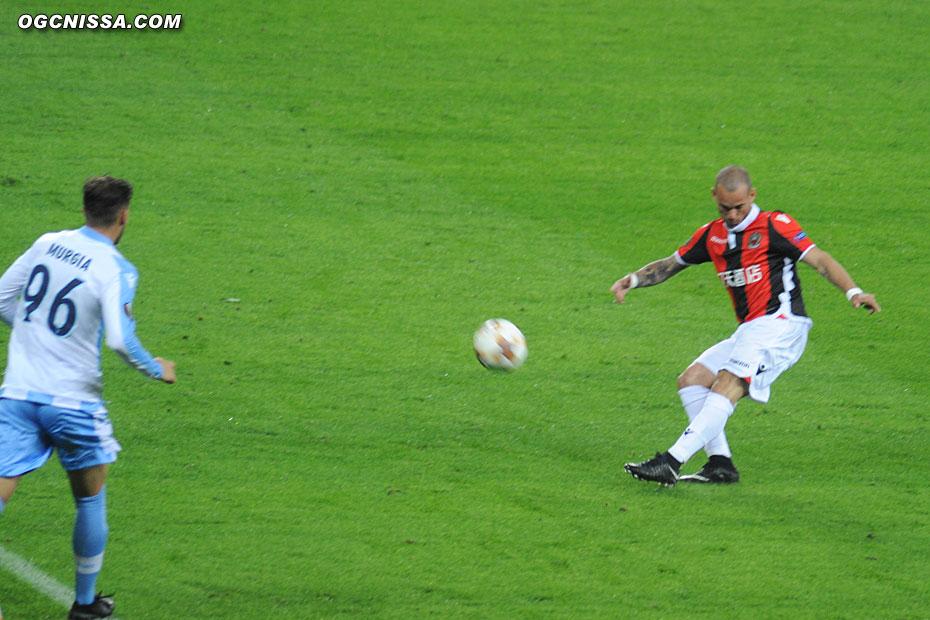 Passe de Wesley Sneijder